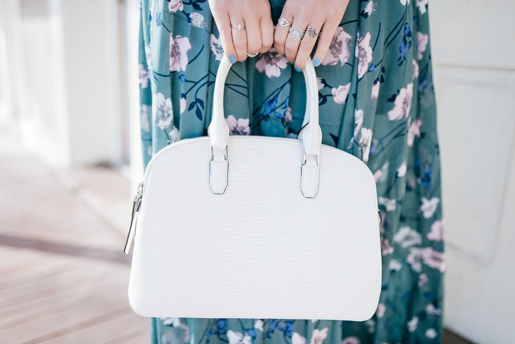 Henri Bendel Dome Satchel and Moonstone Jewelry
