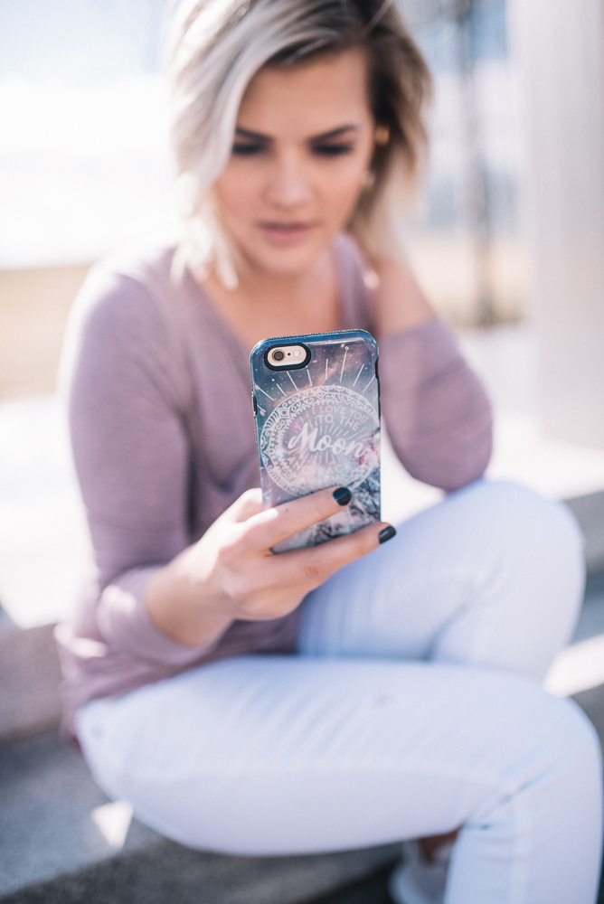 Icing Moon Phone Case