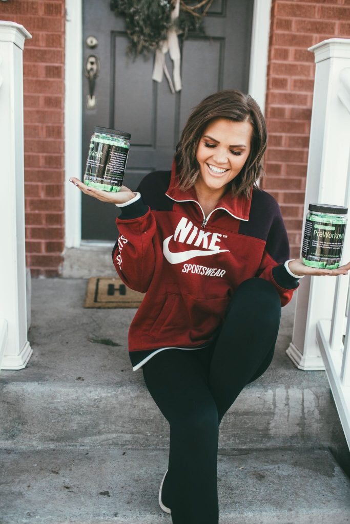 Nike Archive Hoodie and WMNutrition Preworkout