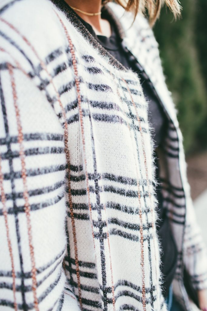 Sanctuary Plaid Coat