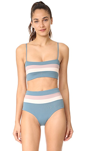 L*Space Reversible Rebel Stripe Bikini