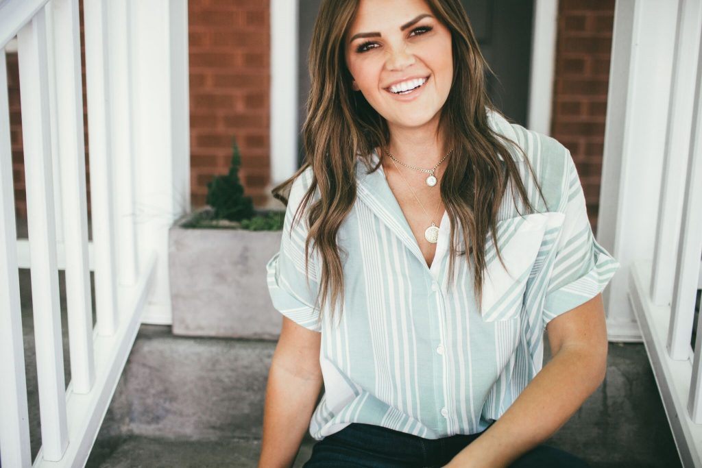 Green Button Down Blouse + Meghan Bo Designs – Wild One Forever