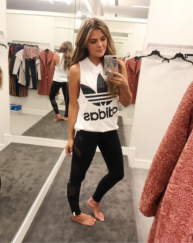Wild One Forever - Nordstrom Anniversary Sale 2018 Activewear adidas logo tank