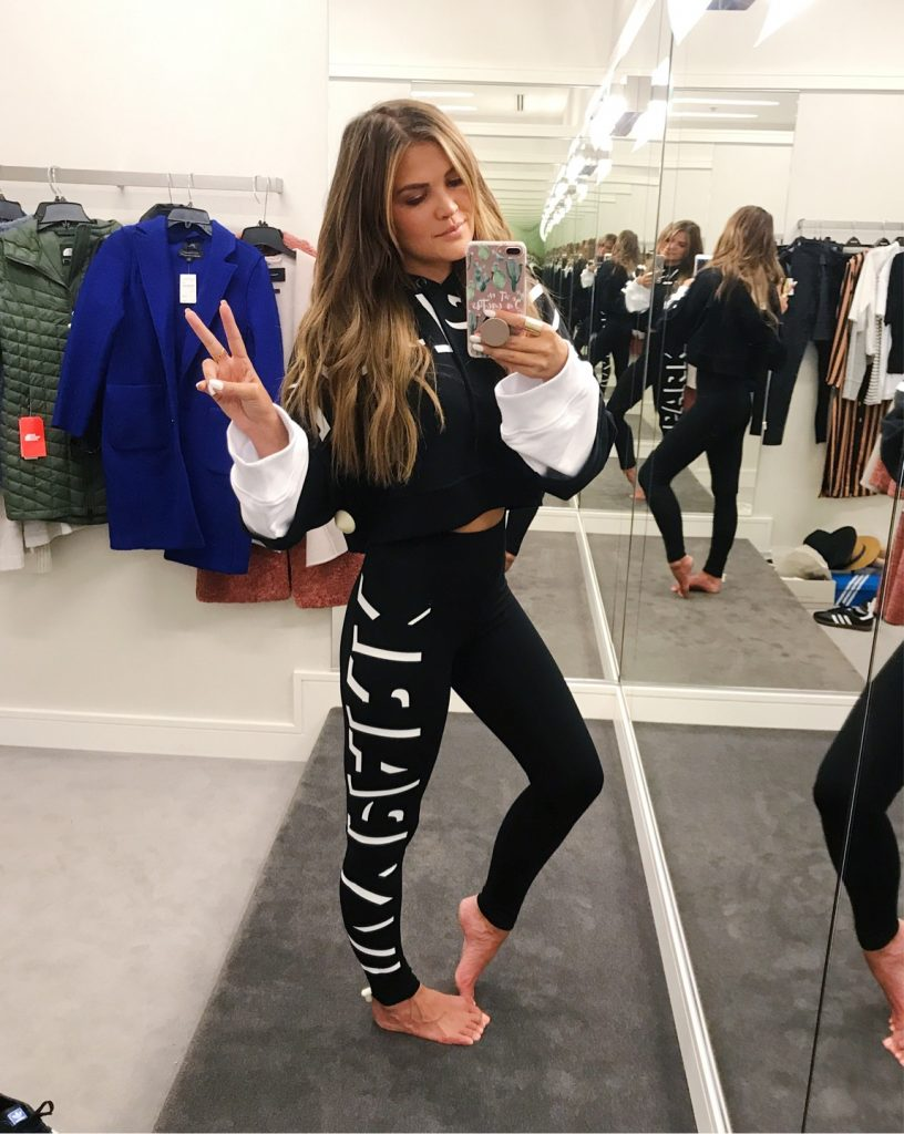 Wild One Forever - Nordstrom Anniversary Sale 2018 Activewear black ivy park hoodie and leggings
