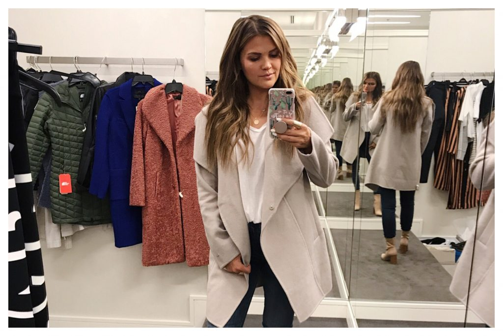 cefbc110e29b Nordstrom Anniversary Sale 2018 – Coat and Jacket Try-Ons – Wild One ...