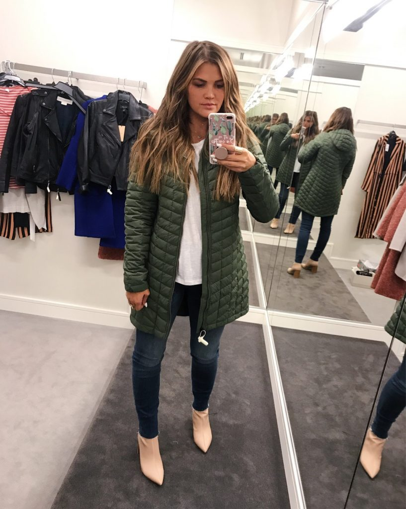 Nordstrom Anniversary Sale 2018 - Olive Northface Coat