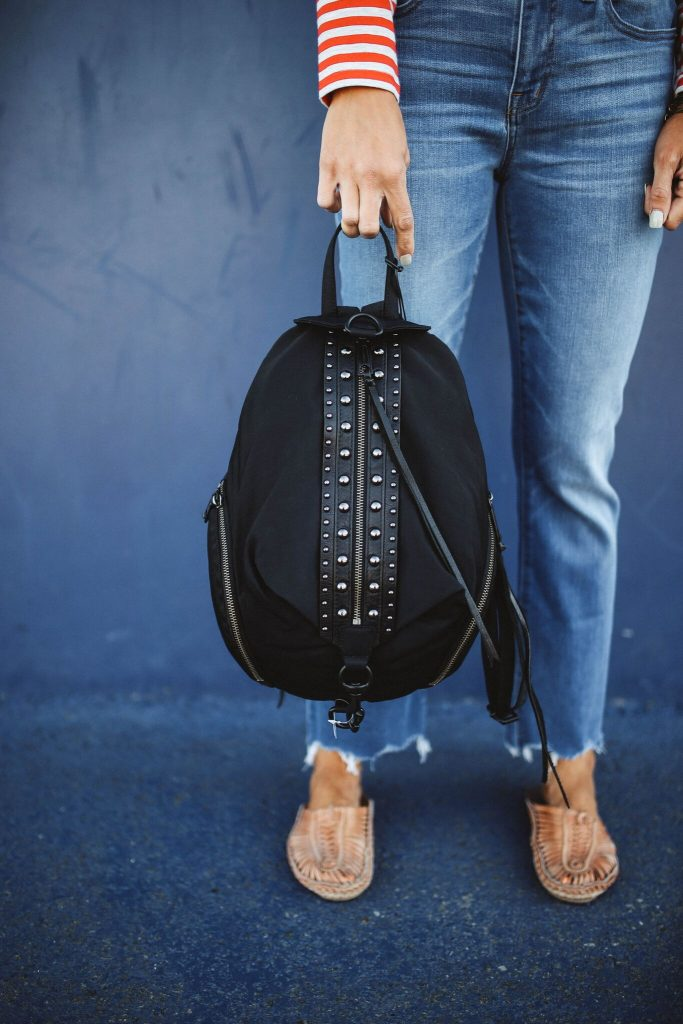 Nordstrom Anniversary Sale 2018 - rebecca minkoff black studded backpack