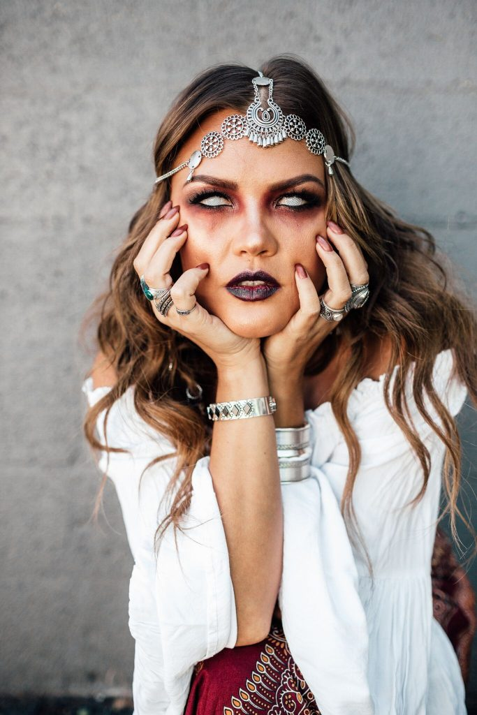 Halloween Fortune Teller Costume
