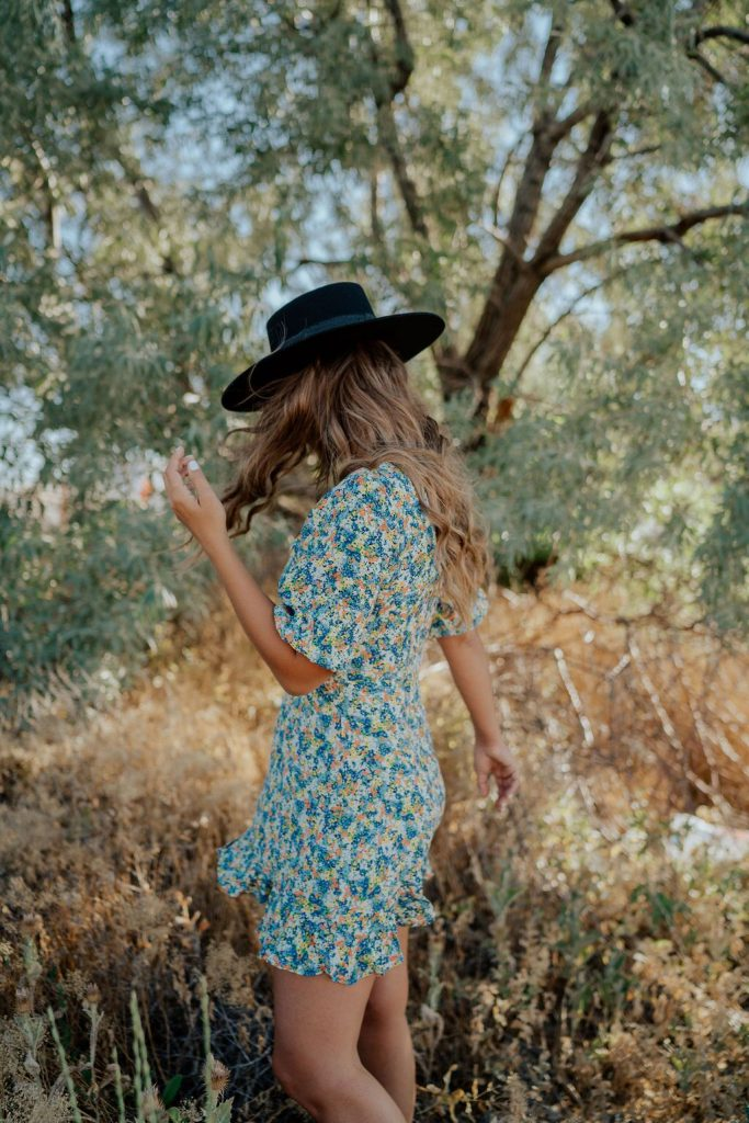 Faithfull the Brand Jeanette Dress Lack of Color Sierra Hat The Bohemian Mama