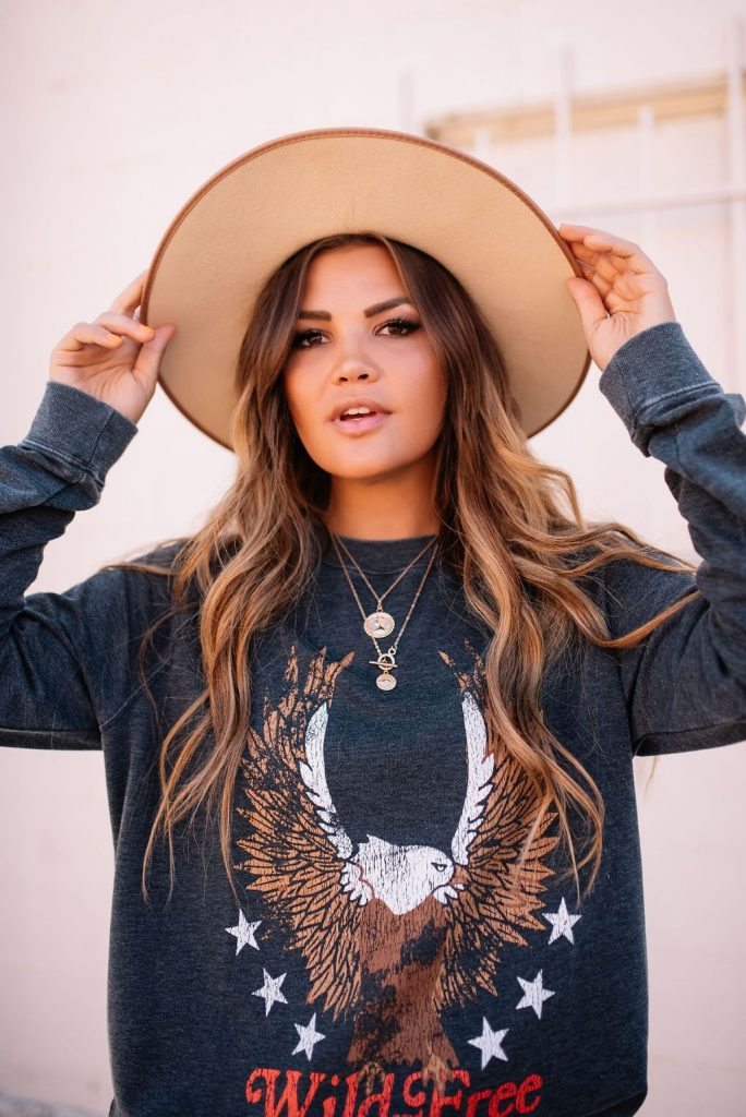 Show Me Your Mumu Eagle Sweatshirt and Matisse Caty Boots; Labor Day Sales