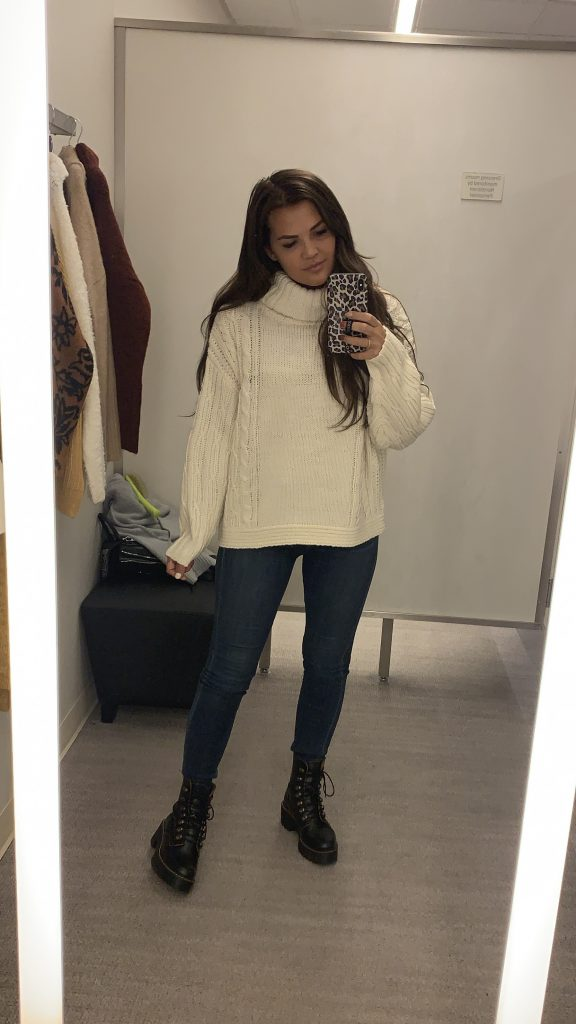 topshop; oversized sweater; sweaters; try-on; nordstrom