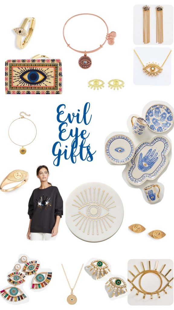 gifts; gift guide; evil eye