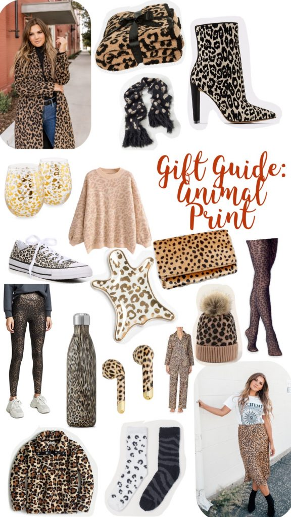 animal print; leopard print; gifts; gift guide