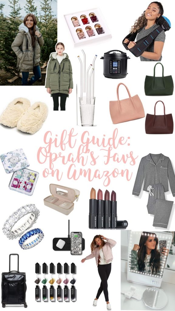 gifts; gift guide; oprah; oprah's favorite; amazon