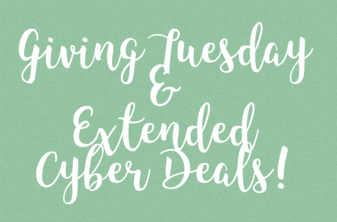 giving Tuesday; cyber sales; sale