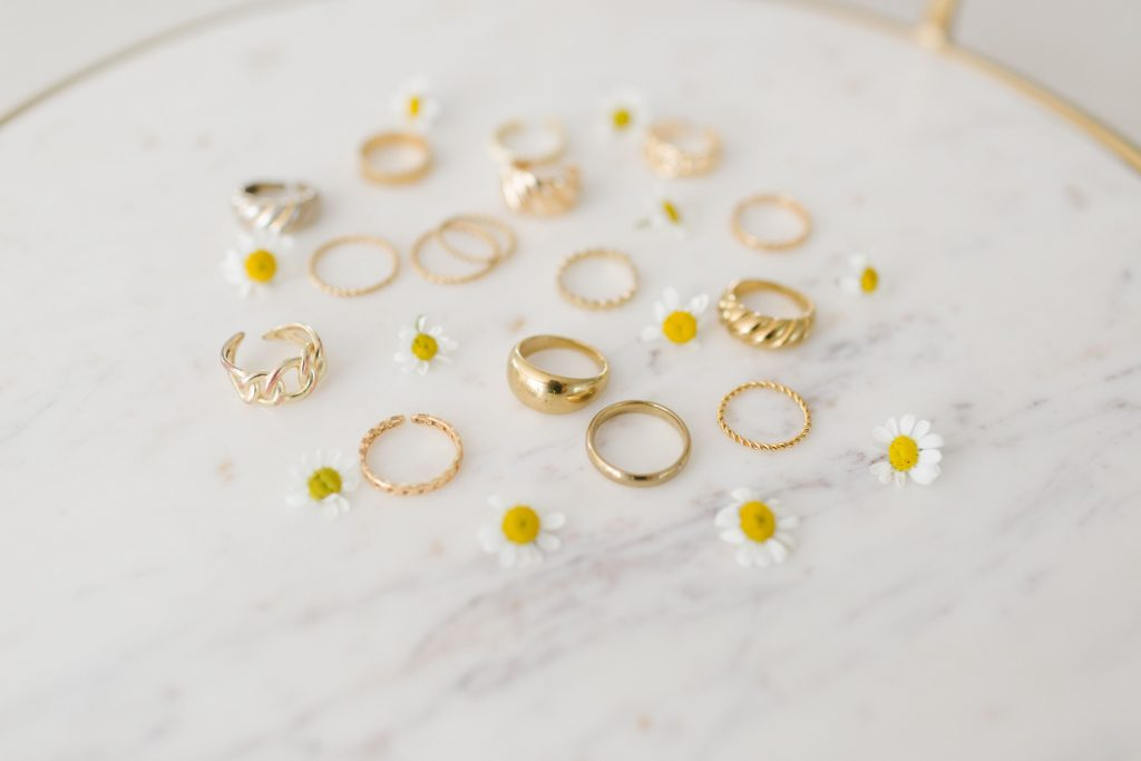 stacking rings, gold jewelry, gift ideas for women